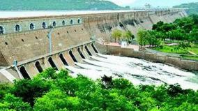 water-flow-decreased-in-mettur-dam