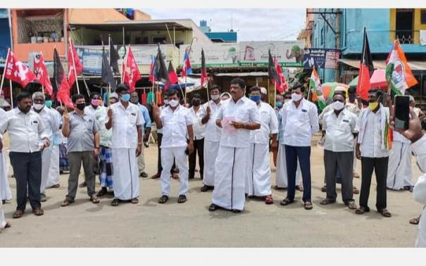 agricultural-illegal-road-strike-on-sept-25-let-tamil-nadu-come-to-a-standstill-farmers-association-announcement