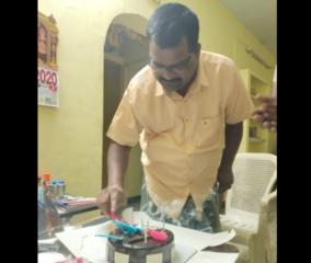 ex-dharmapuri-dsp-died-of-heart-attack-on-his-birthday