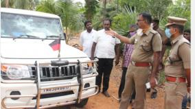 2-arrested-for-damaging-mla-anita-radhakrishnan-s-car-glass-police