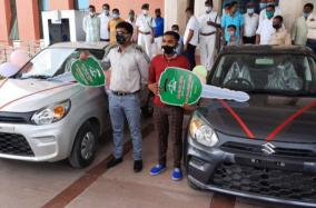 jharkhand-education-minister-gifts-cars-to-class-10-12-board-toppers