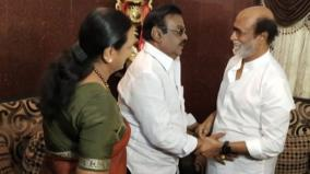 temujin-leader-vijaykanth-s-health-condition-rajinikanth-inquires-over-lk-sudheesh-over-phone