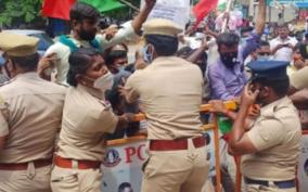 over-500-arrested-in-nellai-for-protesting-against-agri-bill