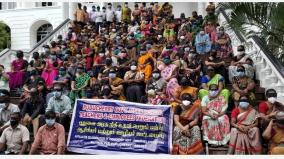 10-months-salary-arrears-puducherry-teachers-protest-blindfolded-with-black-cloth