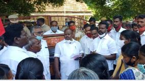 farmers-blockade-of-mannargudi-demanding-crop-insurance