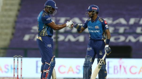 mumbai-dethrone-capitals-rohit-sharma-and-mumbai-indians-bowlers-brush-past-kings-xi-punjab