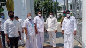 aiadmk-mlas-strike-in-pondicherry-assembly-over-non-formation-of-waqf-board-minister