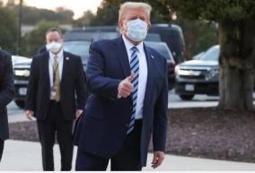coronavirus-donald-trump-likely-still-contagious-back-at-white-house
