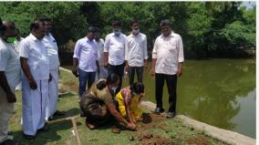 sowing-of-one-lakh-palm-seeds-in-mayiladuthurai-start-in-kollidam