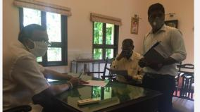 sewerage-works-to-be-completed-in-karaikudi-by-deepavali-drinking-water-drainage-board-officials-assured-karthi-chidambaram