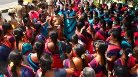 anganwadi-staff-protest-in-tutucorin