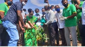 work-to-create-2nd-miyawaki-forest-in-tenkasi-collector-started