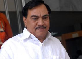 bjp-leader-eknath-khadse-to-join-ncp-maha-minister
