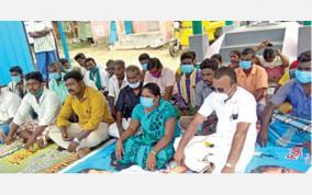 panchayat-leader-protest