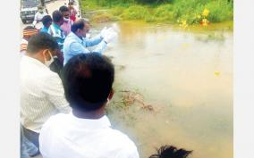 floods-in-ambalur-lake