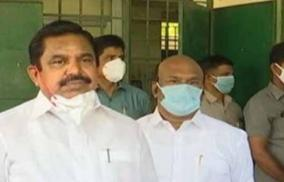 chief-minister-palanisamy-visits-kaveri-hospital-minister-durakkannu-health-inquiry