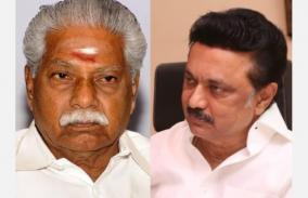 stalin-wishes-minister-durakkannu-well