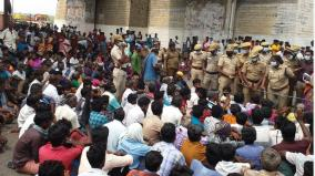 rajavaikal-water-farmers-protest-in-dindigul-vathalakundu-road