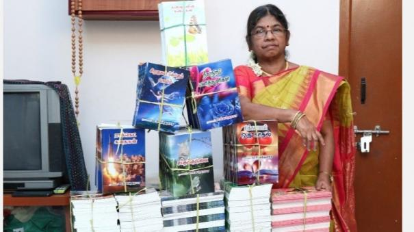 female-writer-in-the-corona-period-arranged-to-publish-100-books-on-a-single-platform-selection-for-the-award