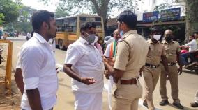 tenkasi-congress-cadres-arrested