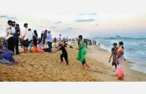 no-opening-of-marina-beach-due-to-curfew-chennai-people-disappointed