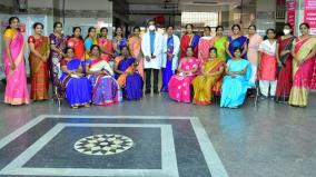 madurai-gh-maternity-ward-doctors-crew-felicitated-for-best-efforts-in-corona-pandemic
