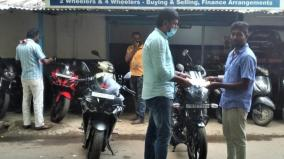 old-car-bikes-sale-increased-in-covai