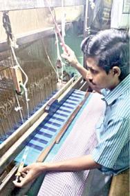 silk-weaving