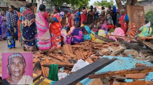 ramnad-old-lady-dies-as-wall-collapses-due-to-rain