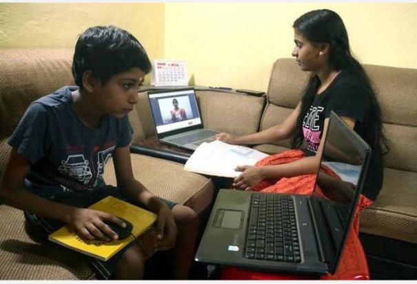 emotional-communication-is-not-in-online-classes-school-teachers-parent-opinion-asim-premji-university-study-results