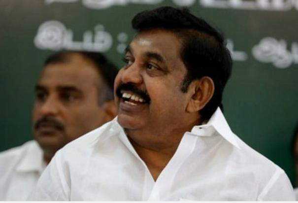 chief-minister-palanisamy-as-the-enlightened-palaniswamy-of-the-medical-mbbs-place-minister-vijayabaskar-praised