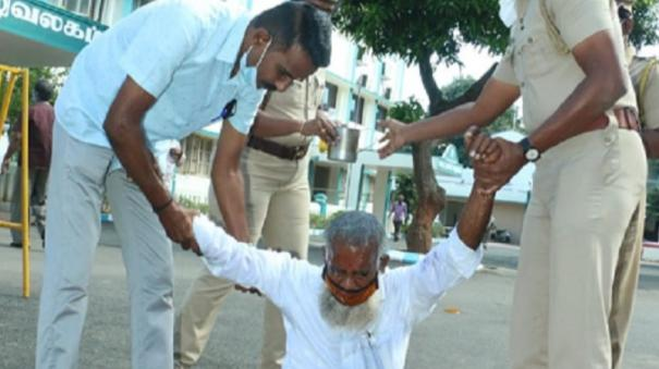 cops-avert-suicide-at-collector-office-premises