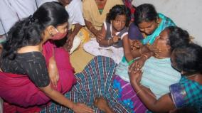 kanimozhi-mp-assures-to-take-care-of-slain-kovilpatti-soldiers-children