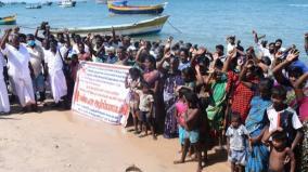 pamban-fishermen-protest