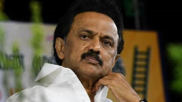 mk-stalin-announced-dmk-will-pay-fee-for-government-school-students-in-medical-education