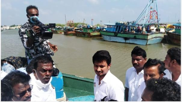 udayanidhi-arrested-today-for-second-day-naga-police-operation