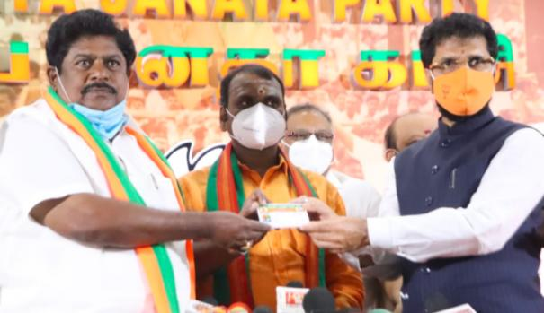 dmk-ex-mp-kp-ramalingam-joined-in-bjp