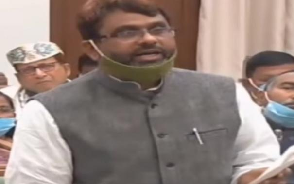 bihar-mla-from-owaisi-party-takes-oath-in-urdu-but-insists-word-hindustan-be-replaced-with-bharat