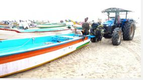 sea-rage-in-marakanam-area-due-to-nivar-storm-the-fishermen-did-not-go-to-sea