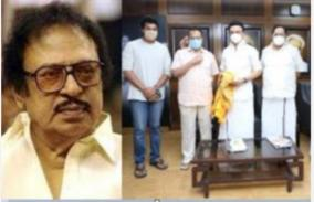 son-of-late-actor-ssr-joined-the-dmk-in-the-presence-of-stalin