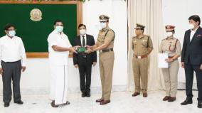 chief-minister-palanisamy-launches-fire-processor-released-by-the-fire-department-for-public-service