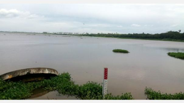 water-fills-up-rapidly-due-to-heavy-rains-21-lakes-in-the-vicinity-of-bagoor-filled-up