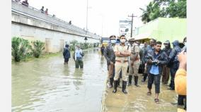 commissioner-of-police-inspection-in-tambaram-mudichur-areas-delivered-relief-items