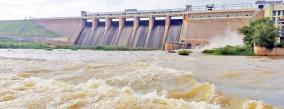 water-opening-at-vaigai-dam