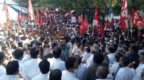 bharat-bandh-in-support-of-farmers-fighting-against-agricultural-law-opposition-parties-struggle-in-tamil-nadu