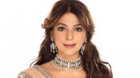 juhi-chawla-loses-diamond-earring-at-mumbai-airport-promises-to-reward-finder