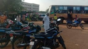 buses-doesnot-operae-to-sivagangai-gh-due-to-road-encroachment