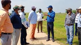 central-archaeological-department-holds-inspection-in-adichanallur