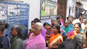 nellai-public-thronged-to-collect-token-without-mask