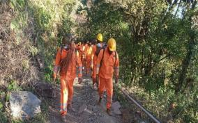 seven-ndrf-teams-deployed-for-fire-fighting-at-nagaland-s-dzuko-valley